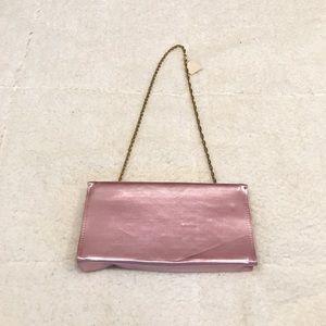 Vintage Clutch Bag w/ Chain Strap